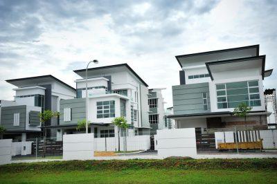 padrão de construção de casa em condomínio