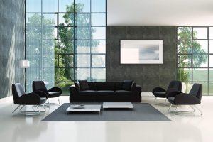 Grandes formatos de porcelanato: conheça essa tendência em casas de luxo!